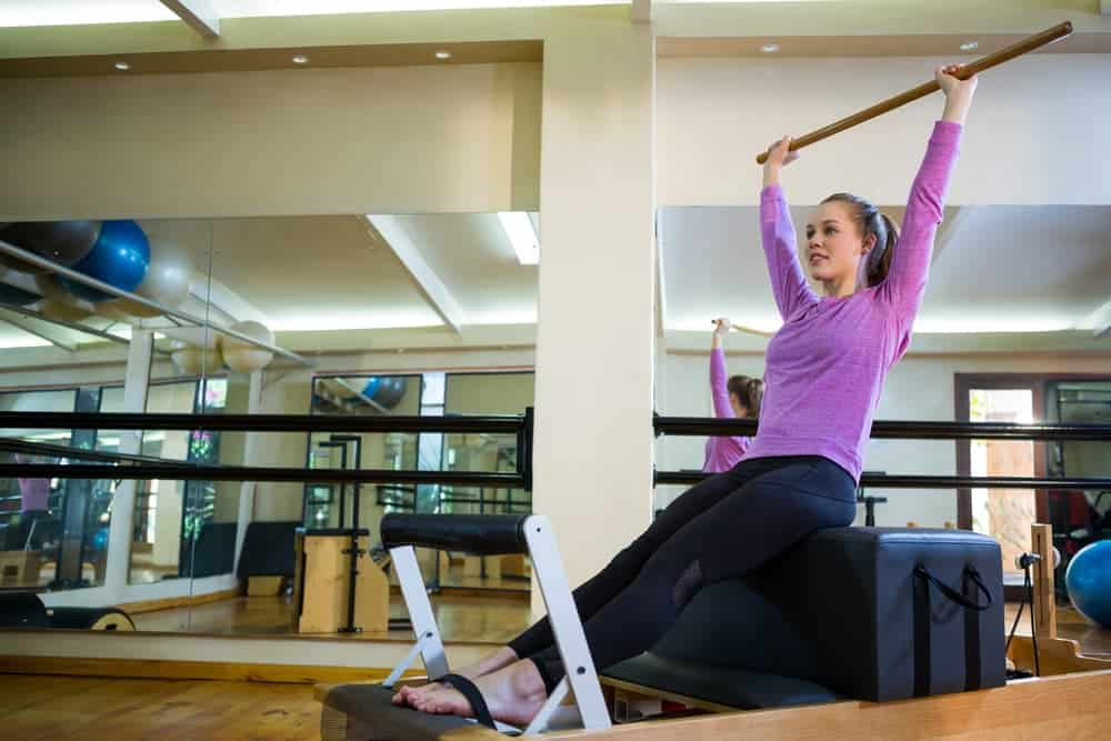Health Constitution_Pilates Reformer Exercises The Flat Back