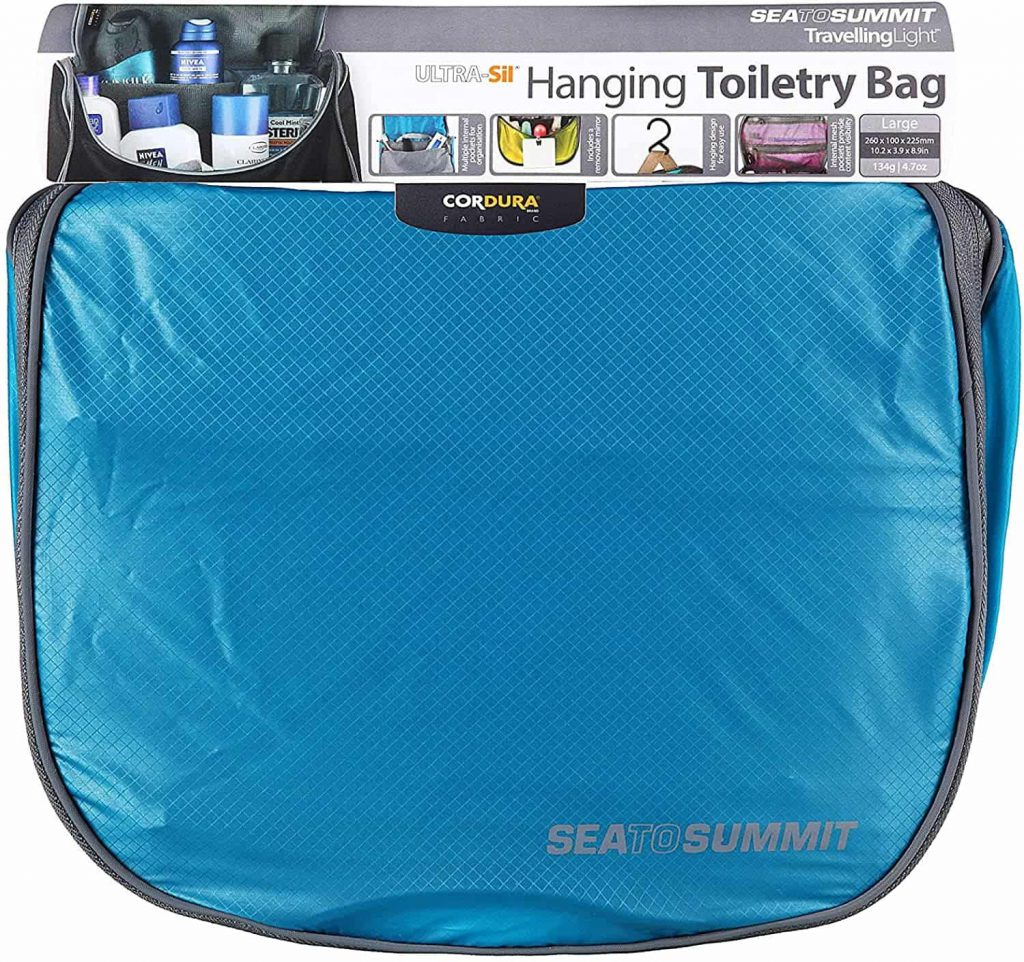 Health Constitution_Sea To Summit Hanging Toiletry Bag