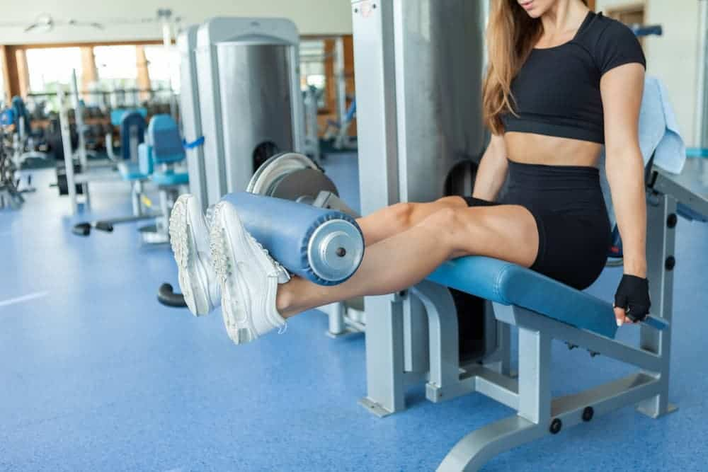 Health Constitution_Adjustable Weight Bench with Leg Extension Accessory