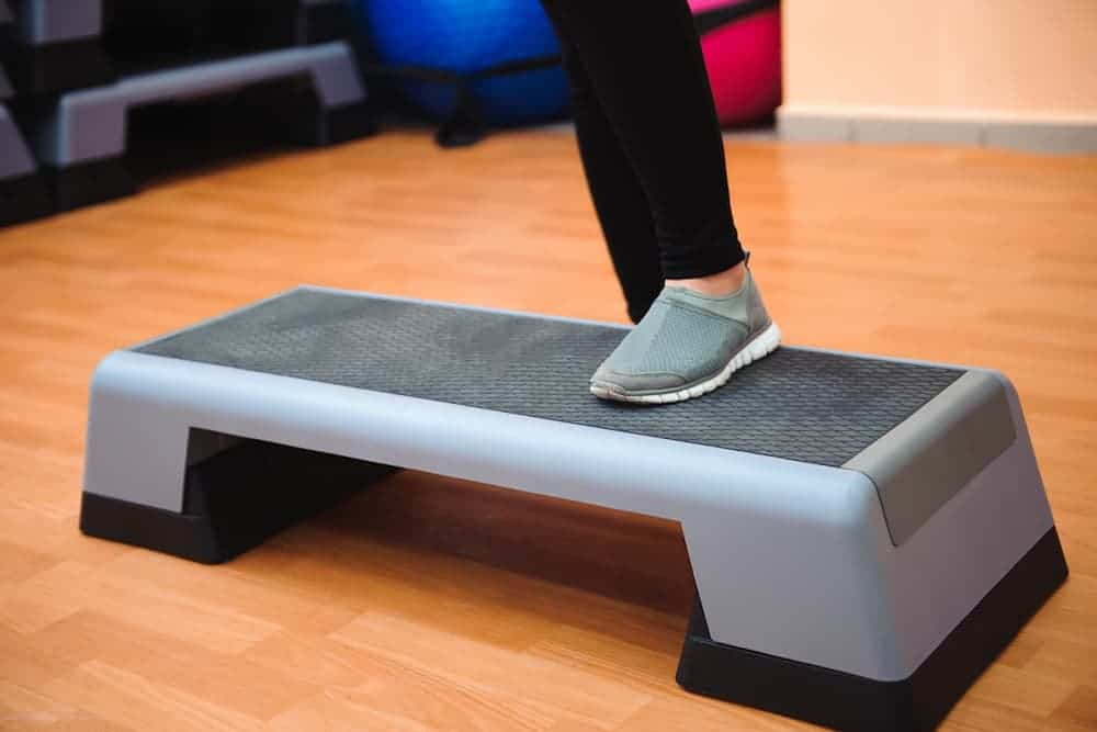 Health Constitution_Aerobic Stepper Exercises like Step Ups