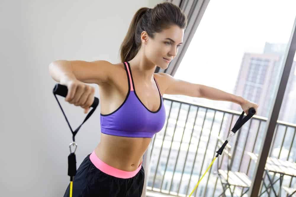 Health Constitution_Lateral Raise and Other Resistance Band Exercises